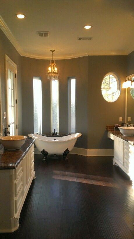 Master Bathroom Clawfoot Tub My New Dream House 2 2014 Pinterest