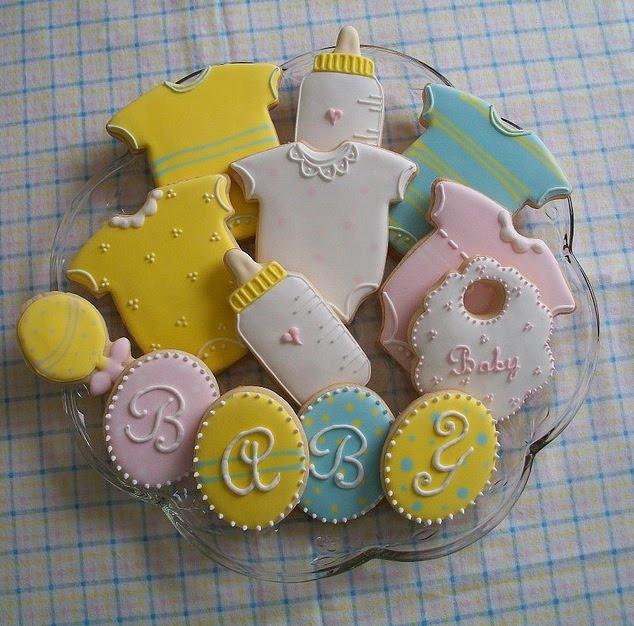 baby cookies baby shower cookies pinterest