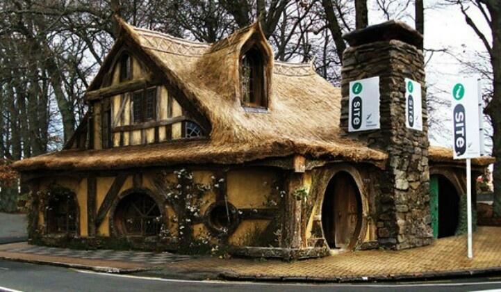 Hobbit house new zealand places to visit pinterest - Great hobbit home designs ...