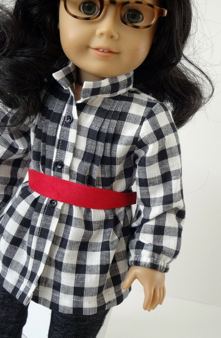 shoe department American Girl Doll Clothes  Tunic Shirt Jeggings 2 Belts  4 Pie