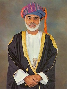 H.M. Sultan Qaboos bin Said