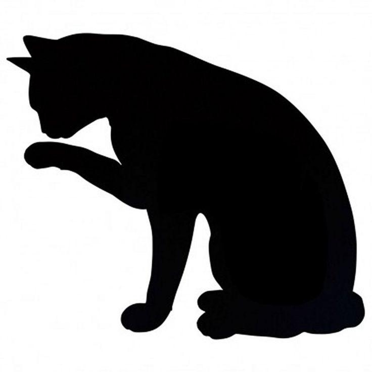 Black Cat Silouette...