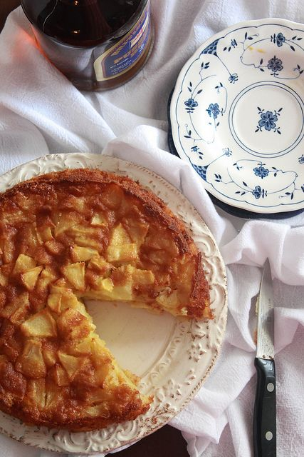 RUM APPLE CAKE | From Ria's Collection | Pinterest
