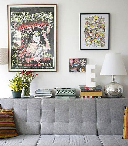 Shelf Behind Couch Idea Decorating Ideas Pinterest