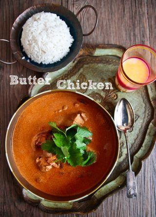 Indian butter chicken (substitute yogurt/cream with coconut milk ...