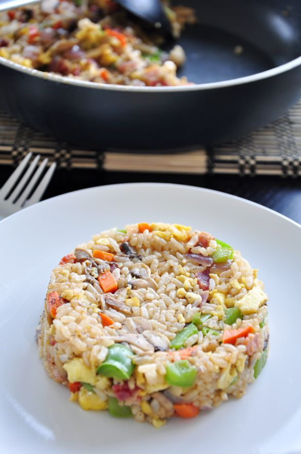 Bacon And Eggs Fried Rice | Food & Drink - Breakfast | Pinterest