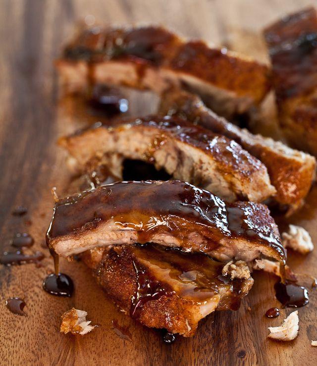 Cayenne Cinnamon Baby Back Ribs with Maple Glaze Recipe | Steamy ...