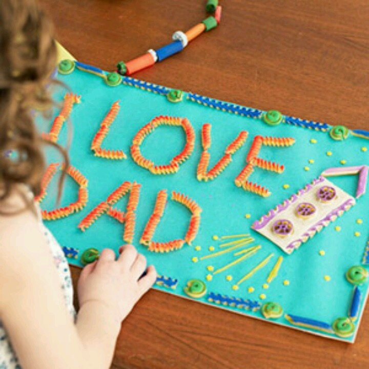 father day craft handprint tree