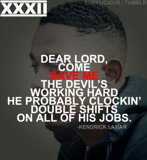 Pin Kendrick Lamar Quotes Tumblr on Pinterest