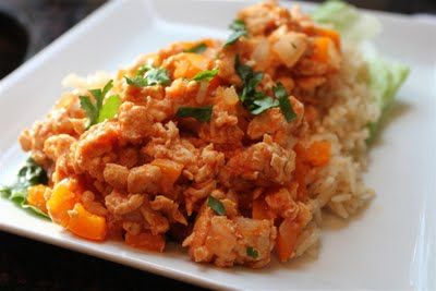 Kelly's Healthified Kitchen: Chipotle Chicken and Rice