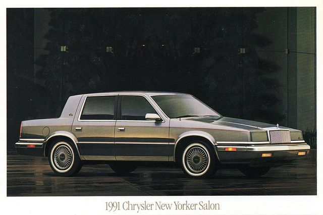 1991 chrysler new yorker salon cars pinterest