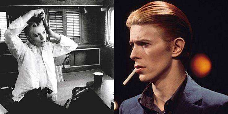 David Bowie (and his hair) | smoking | Pinterest