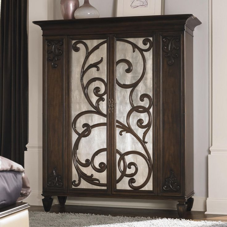 Dressing armoire jessica mcclintock couture american drew