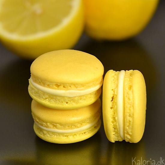 Lemon Verbena Macarons Recipe — Dishmaps