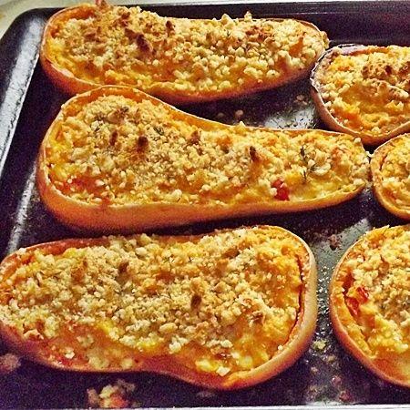 Twice Baked Butternut Squash | Eat Your Veggies | Pinterest