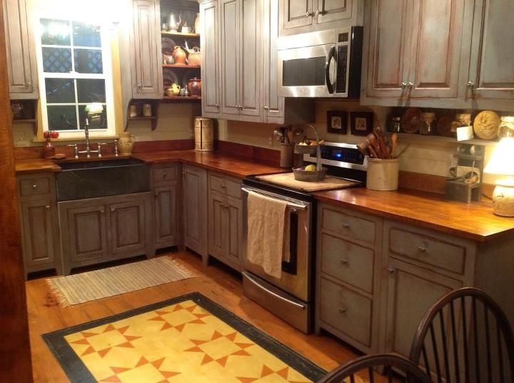 Love The Floor Cloth Primitive Country Decor Pinterest