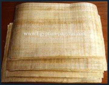 egyptian papyrus paper - photo #17