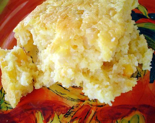 mix 1 cup sour cream 1/2 stick butter melted 1 cup shredded Cheddar ...