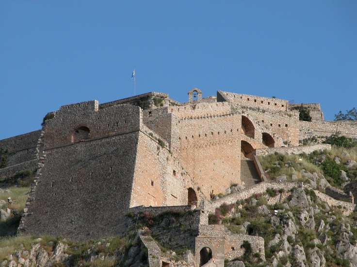 Palamidi Castle, Nafplio  Greece  Pinterest