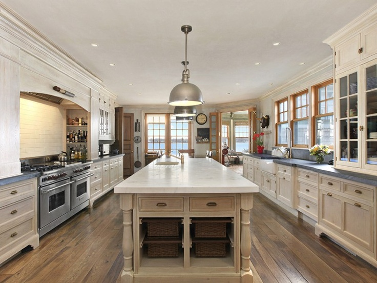 Large Galley Kitchen Dream Pinterest