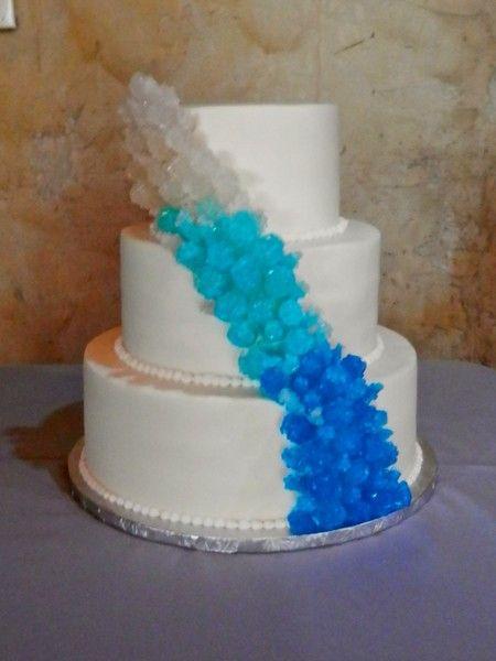 Pin Rock Candy Wedding Cake Cakes Cake On Pinterest