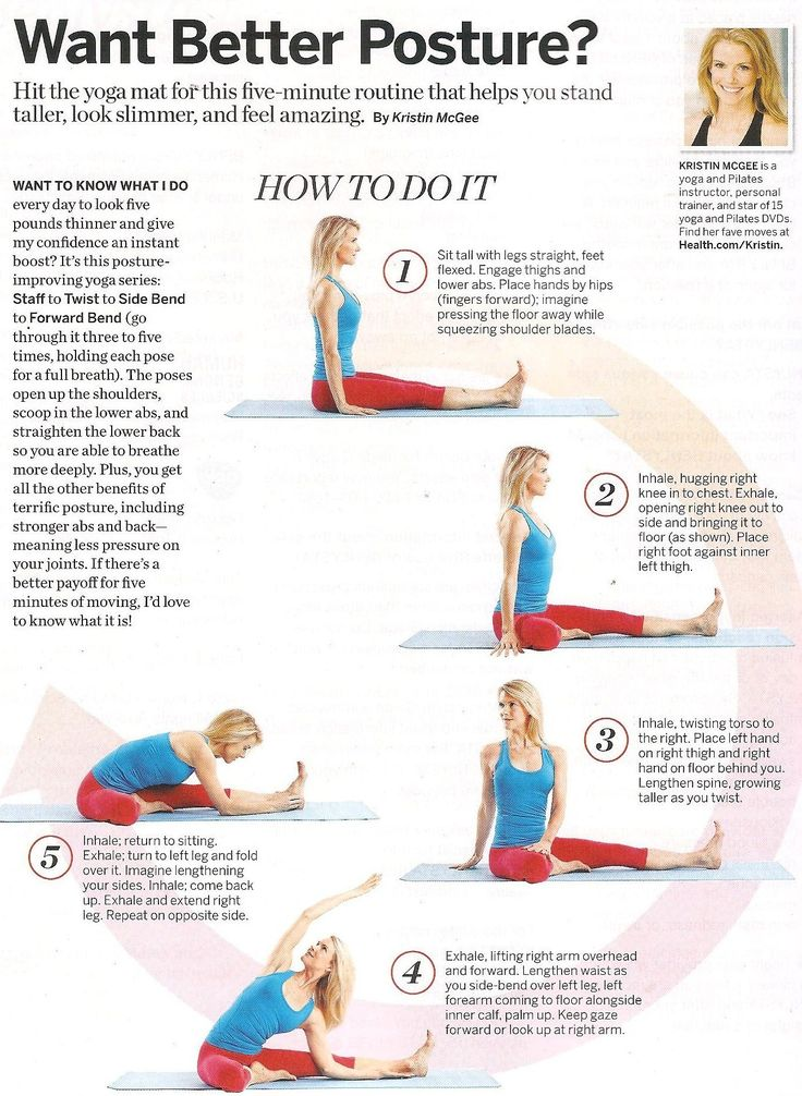 Better Posture Yoga
