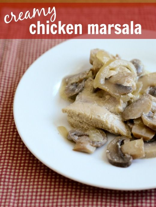 Creamy Chicken Marsala Recipe — Dishmaps