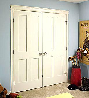 4 Panel Mdf Shaker Interior Door New House Pinterest
