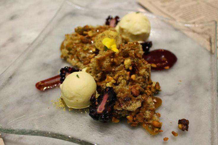 ... Bar (pistachio sponge cake, candied pistachio, pistachio praline, with