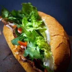 Pork Banh Mi Sandwich | Foodie Luvr | Pinterest