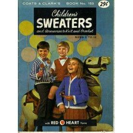 Crochet Sweater Patterns for Babies & Kids