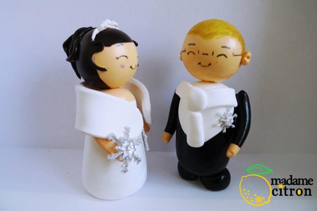 ... et pièces montées de mariage. Mission réussie par Madame Citron