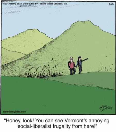 Dissing Vermont.