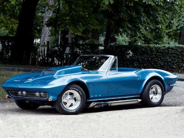 1965 Corvette Stingray Car Interior Design
