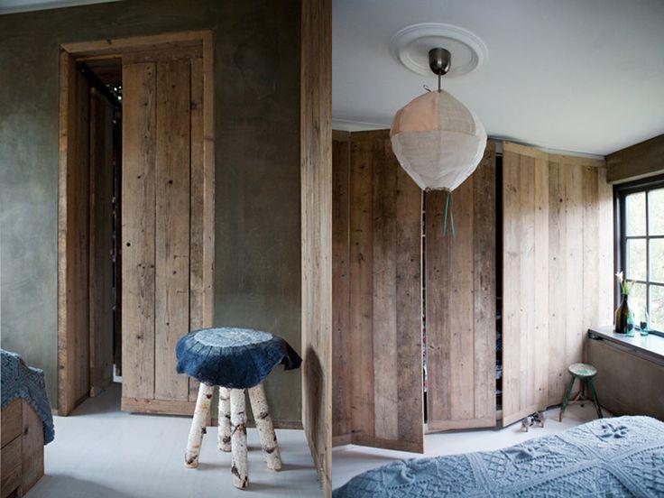 Slaapkamer Hout : Betonlook design slaapkamer door Molitli ...