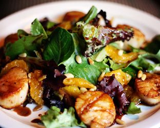 Pan Seared Sea Scallops with a Citrus Balsamic Glaze | Tasty Kitchen ...