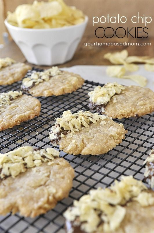 Potato Chip Cookies | Eat and Sip | Pinterest