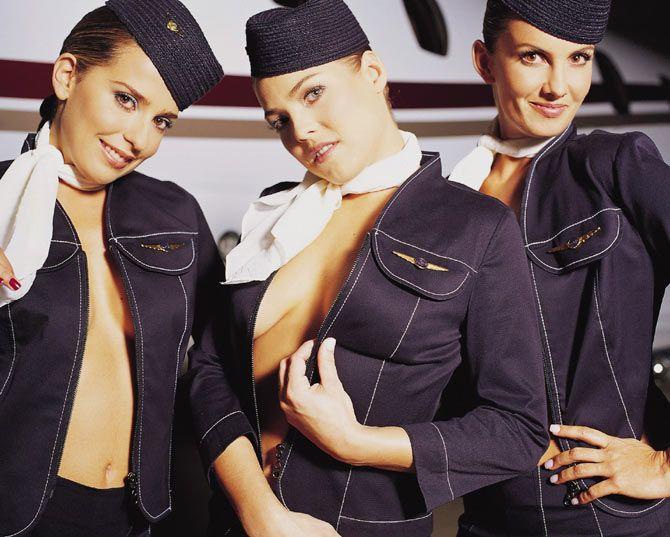 varig flight attendants nude