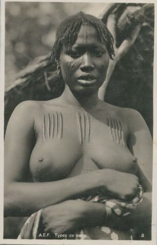African Scarification,Tattoos and lip plates