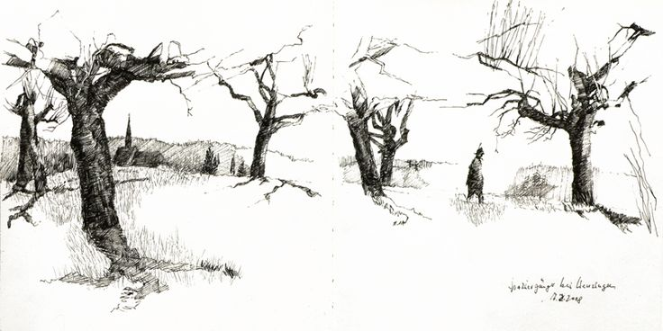From how to draw a tree blurb publishing by edition handdruck