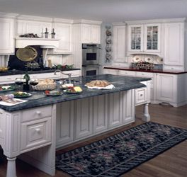 different depth upper cabinets by stove  kitchen  Pinterest