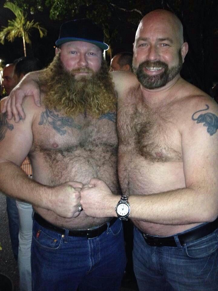 Hairy Bears Men Beards Ink