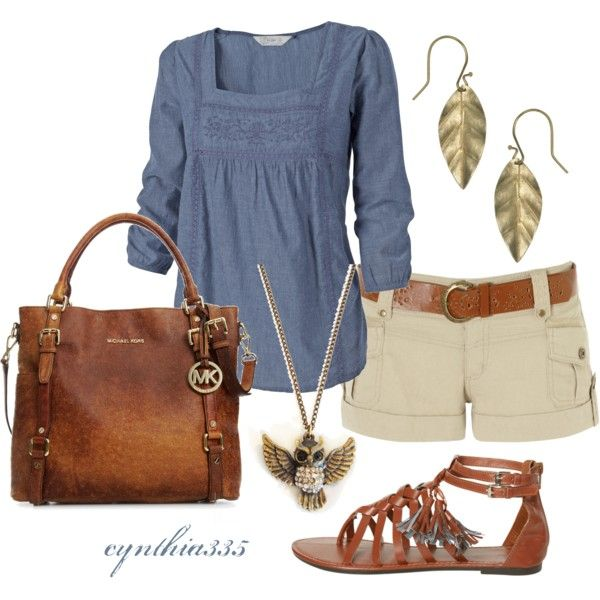 Polyvore - cute top and bag