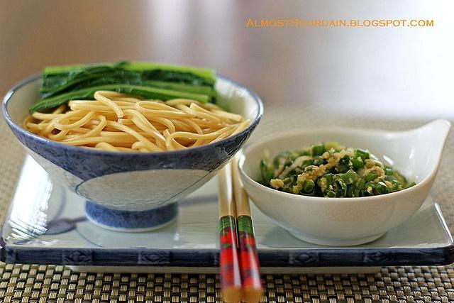 Ginger Scallion Noodles (Momofuku) | Asian Food | Pinterest