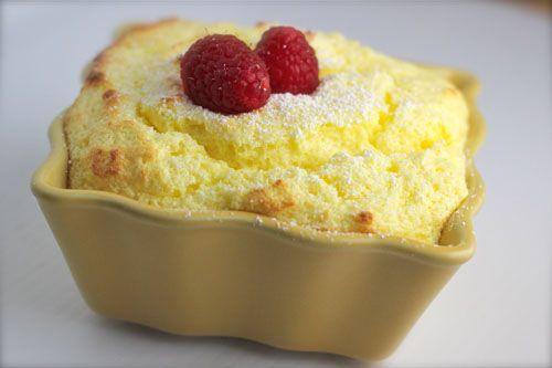 lemon souffle | Recipes | Pinterest