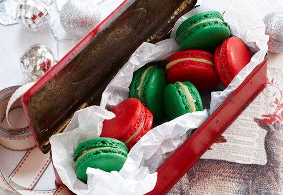 Oaxacan Cinnamon Chocolate Macaroons Recipes — Dishmaps