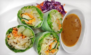 Groupon - $12 for $24 Worth of Thai Food at Mali Thai Cuisine in ...