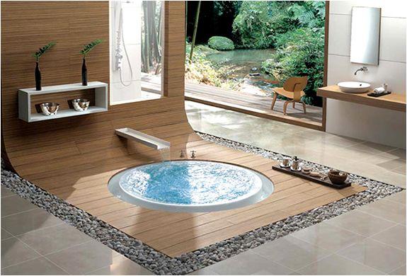 outdoor tub, Overflow bathtubs - GORGEOUS! #bathfixtures