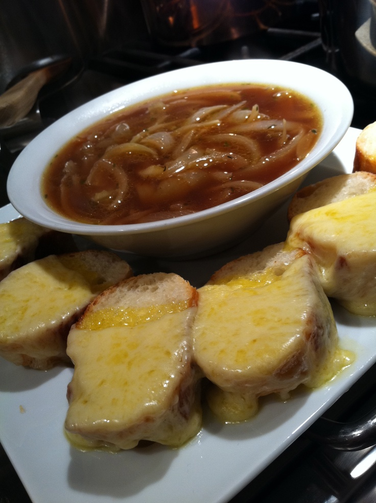 is! My deconstructed French onion soup - traditional French onion soup ...