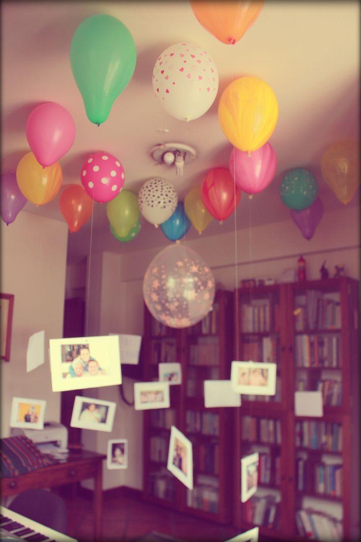 Diy birthday anniversary surprise
